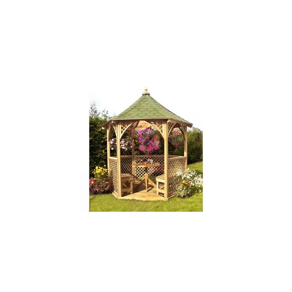 Kiosque de jardin Vivaldi - bois PEFC - Jagram