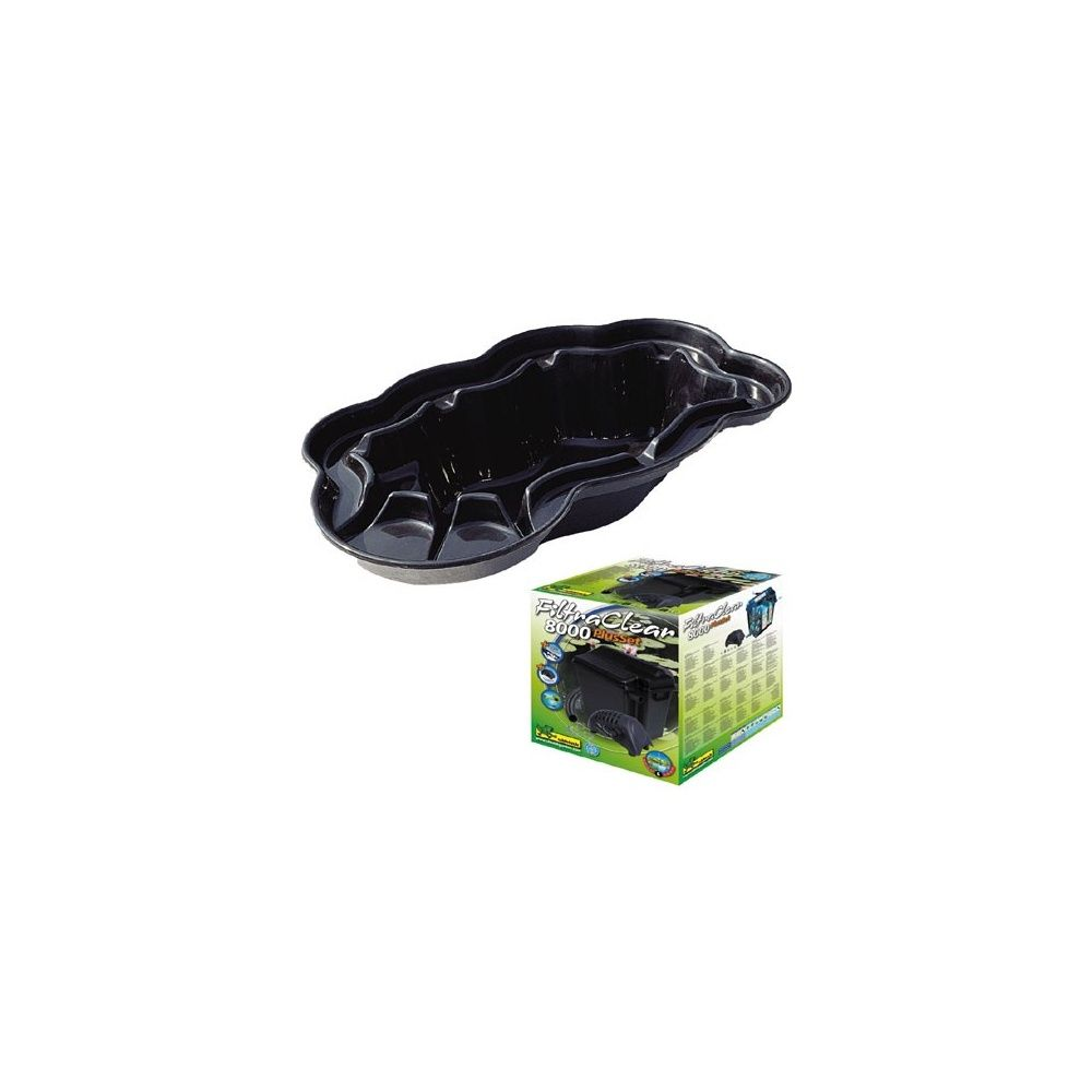 kit bassin 3800l pompe filtration ubbink palette. Black Bedroom Furniture Sets. Home Design Ideas