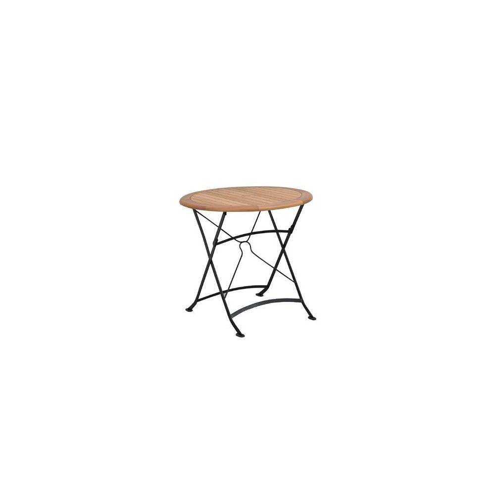 Table pliante ronde Costa - Diamètre 80 cm