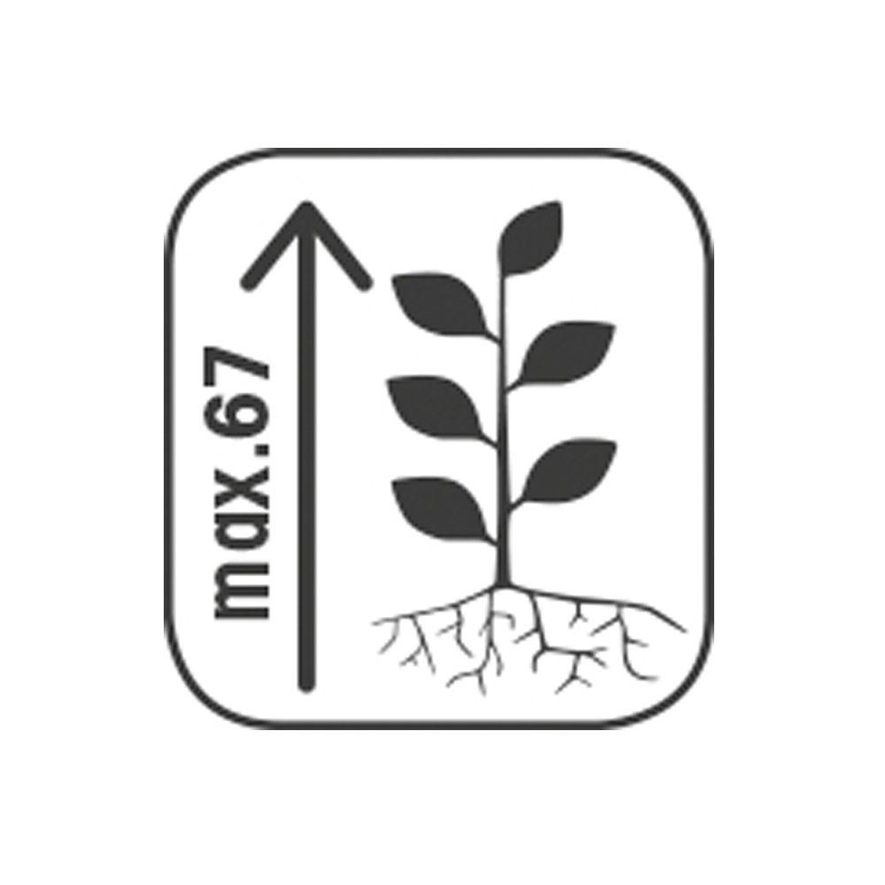 Claustra Treillis Exterieur Bois bac à fleurs avec treillis bois traité autoclave lierre l80 h152 cm