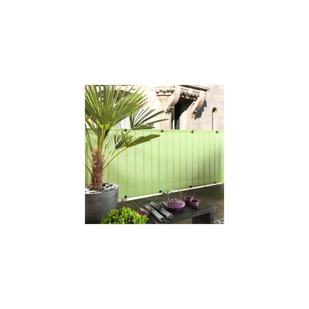 brise vue everly green pour clôture et occultation  h 1m