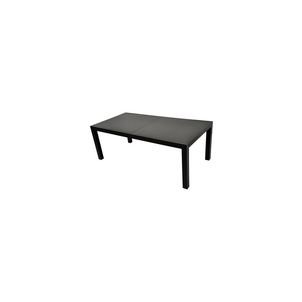 Table Factory 200x300cm en aluminium + plateau en fibre de ciment ...