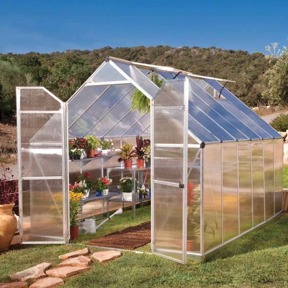 Serre de jardin - Serre polycarbonate Essence 8,90 m² - Palram - Serre de jardin GammVert