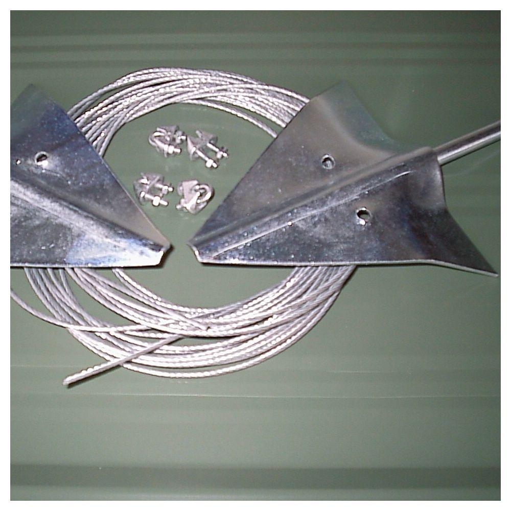 Kit D Ancrage Ak100 Pour Abri Metal Sur Dalle En Beton