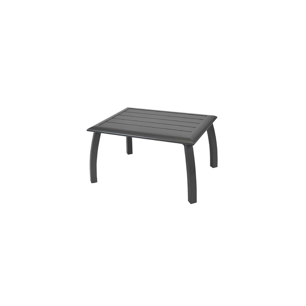 80 X 45 Grise 60 Table Azuro En Aluminium Cm Basse OXTkZiuP