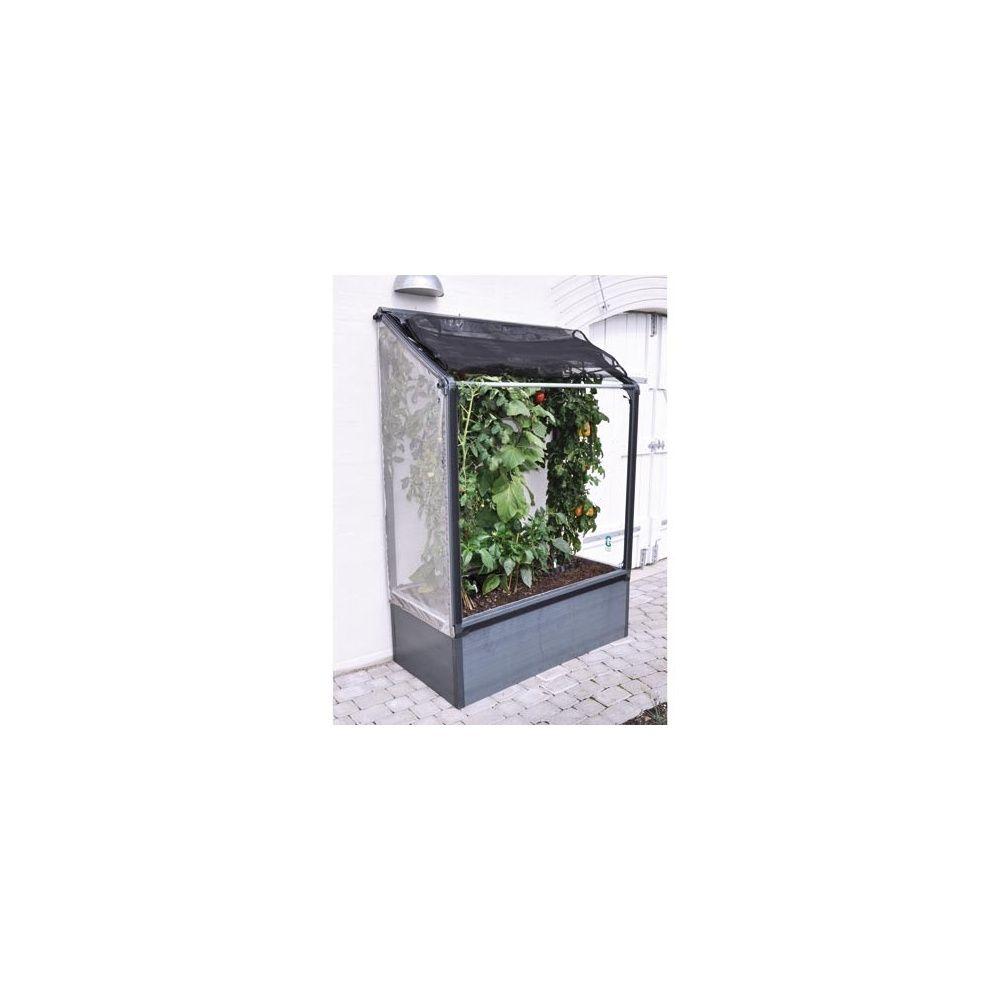 Jardin potager surélevé adossé Haut, Grow Camp Carton 115.5 x 17.6 x ...