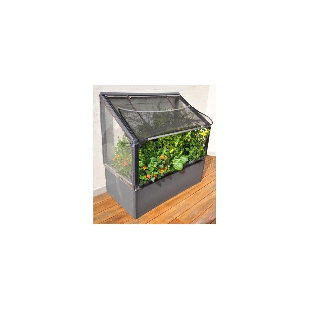 Jardin potager surélevé adossé Bas, Grow Camp Carton 115.5 x 16.4 x ...