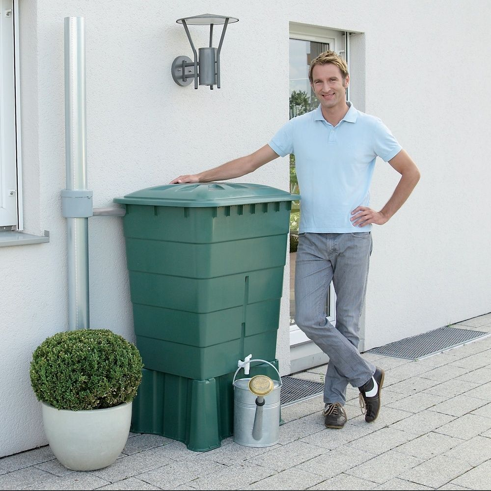r cup rateur d 39 eau rectangulaire vert 300l garantia. Black Bedroom Furniture Sets. Home Design Ideas