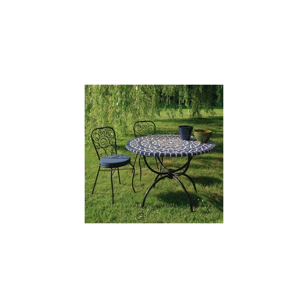 Emejing Table Jardin Mosaique Gamm Vert Gallery - House Design ...