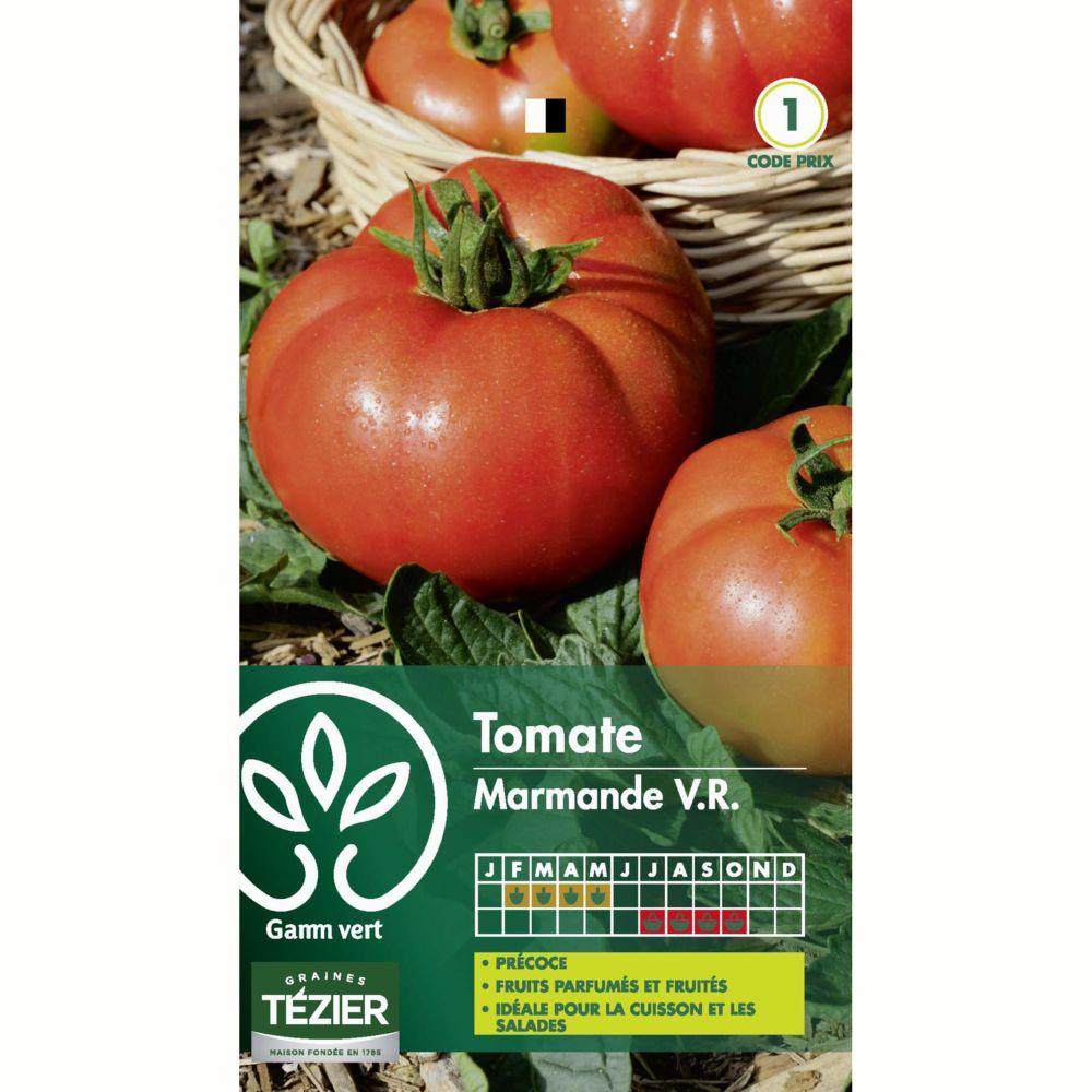 Tomate En Pot Conseil tomate 'marmande' vf