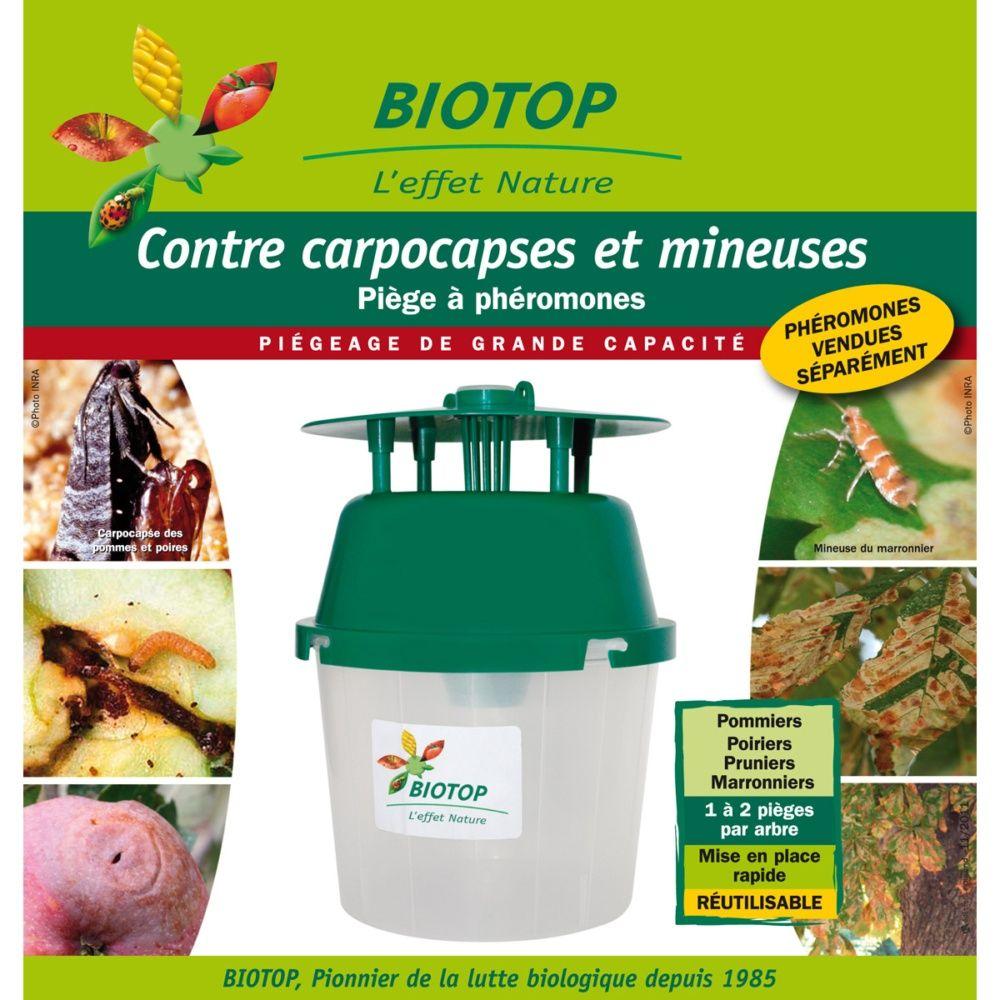 Piège entonnoir à papillons (carpocapses et mineuses) - Biotop