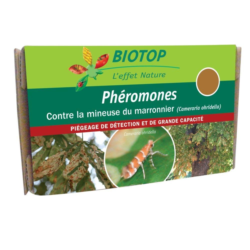 Phéromones spéciales mineuse du marronnier (2 capsules) Biotop