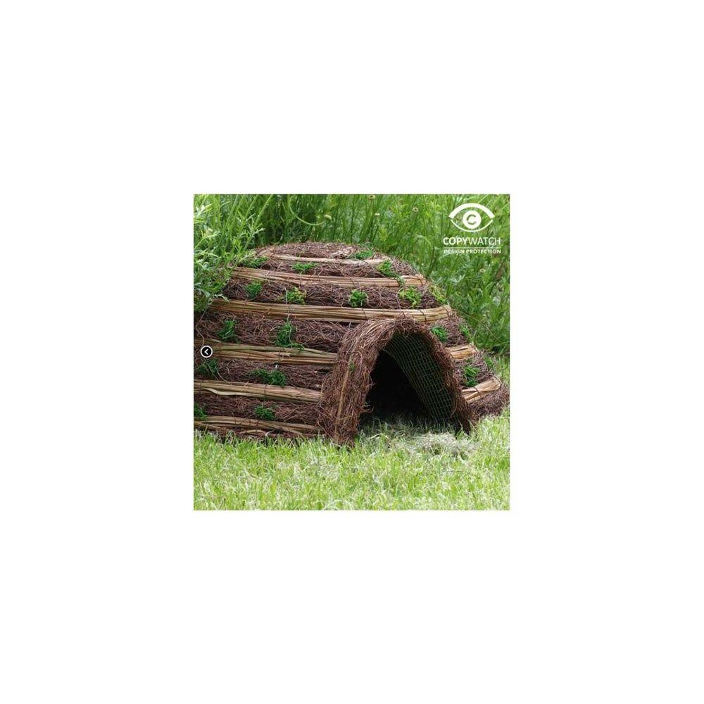 Cabane Igloo confort pour hérissons