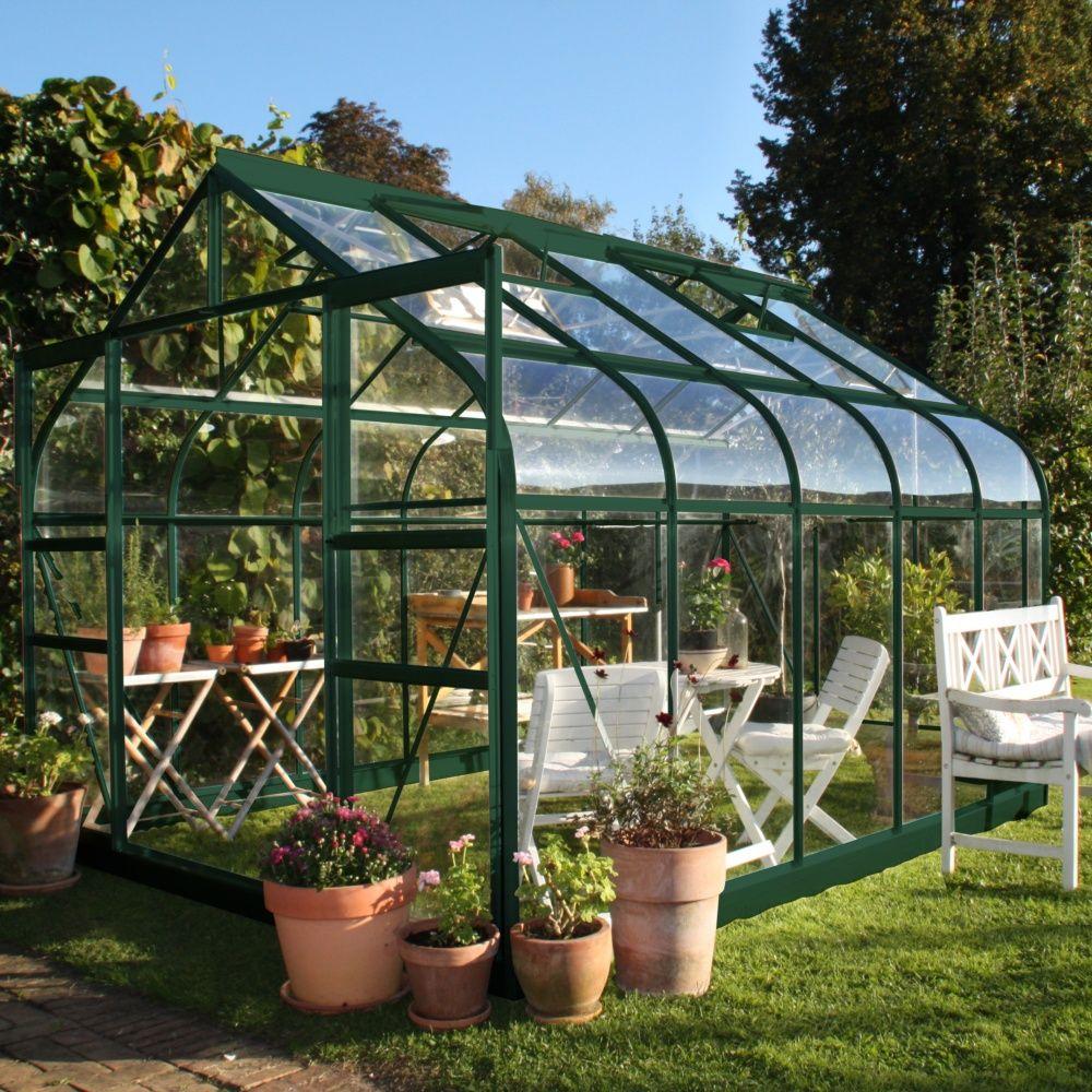 Serre de jardin supreme verre tremp 8 1 m halls 2 - Accessoires serre de jardin ...