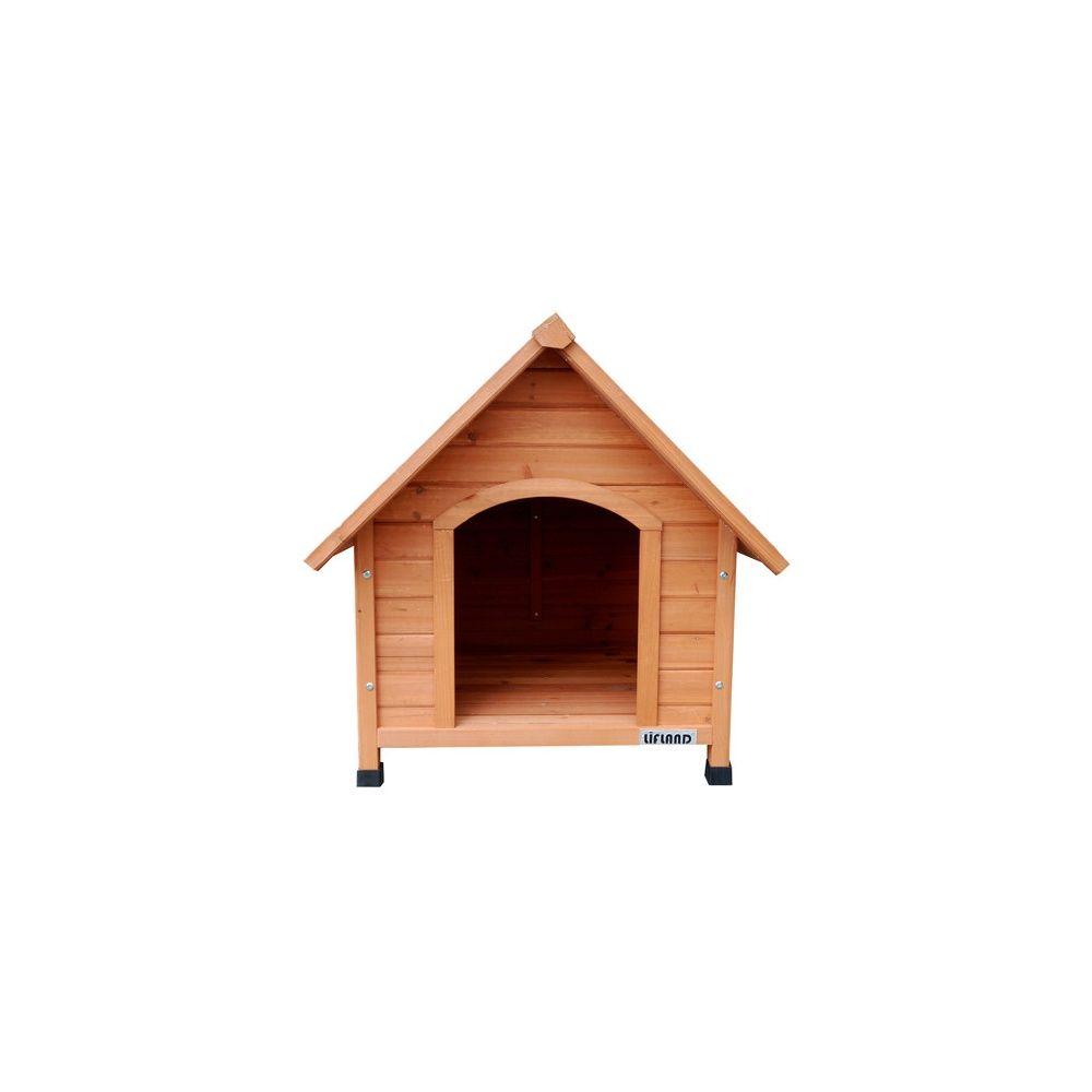 niche pour chien en bois lifland medium 1 colis gamm vert. Black Bedroom Furniture Sets. Home Design Ideas