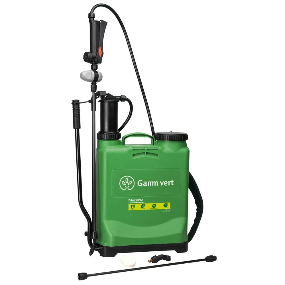 Pulvérisateur à Pression Entretenue - 12L - Gamm vert Carton ...