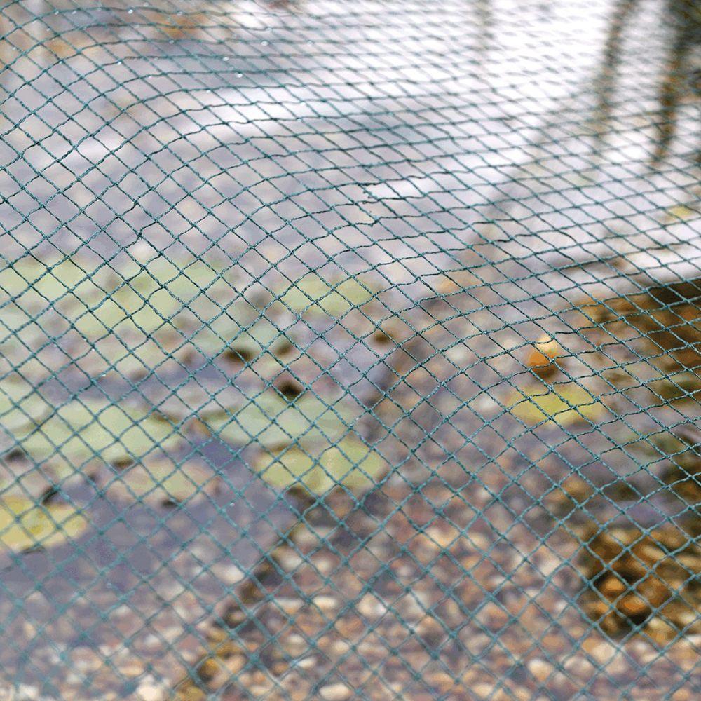 Filet de bassin anti feuilles 3x4 m aquanet oase carton - Protection bassin de jardin ...