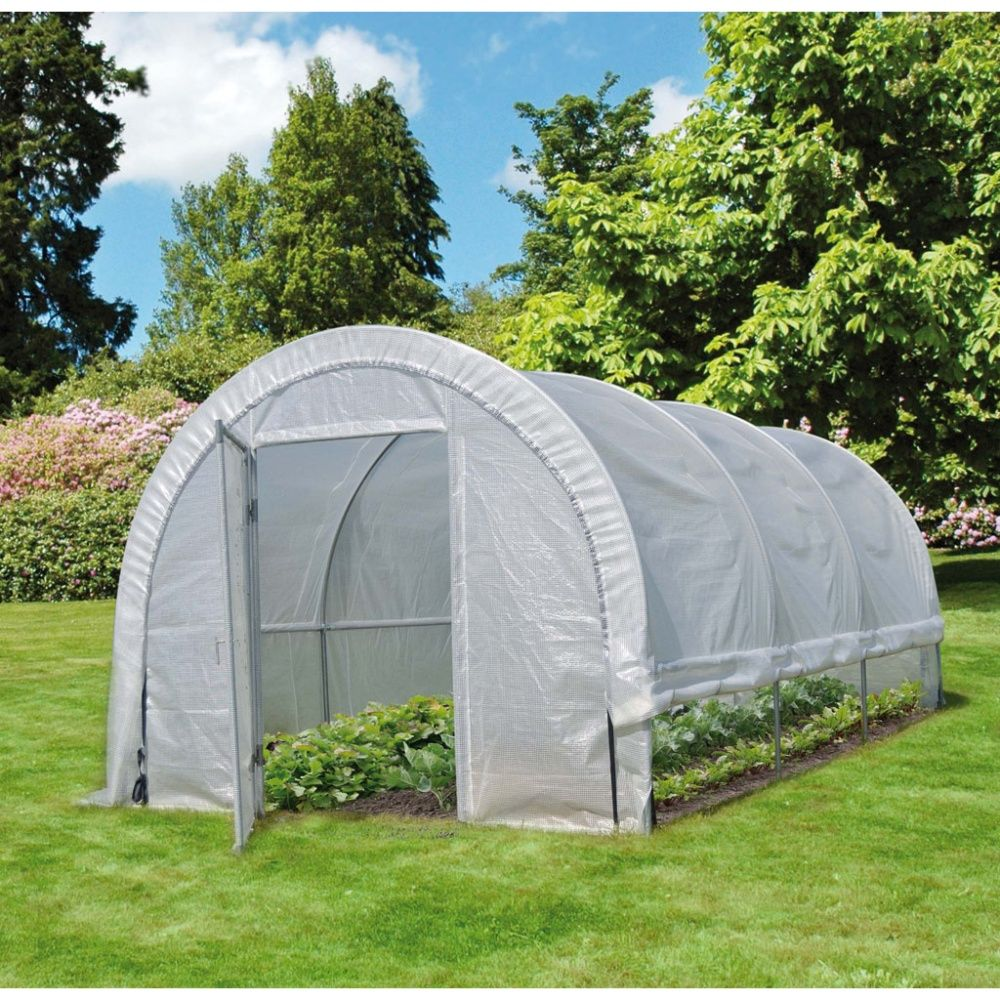 Serre tunnel mara ch re edenia 18m2 nortene gamm vert - Tunnel de jardin ...