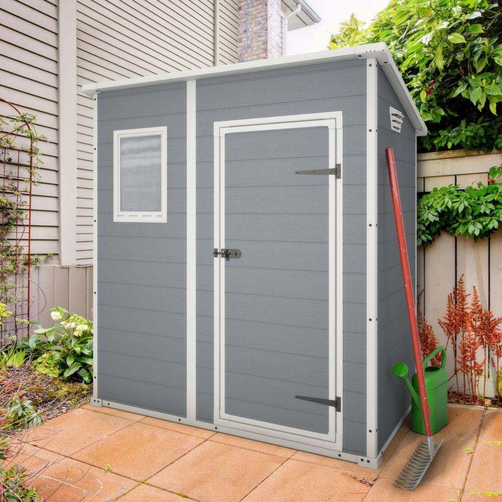 petit abri de jardin en r sine 1 6 m ep 16 mm premium 64. Black Bedroom Furniture Sets. Home Design Ideas