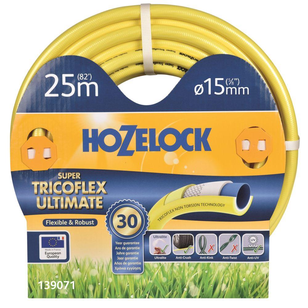 Tuyau HOZELOCK Tricoflex 25m diamètre 15mm
