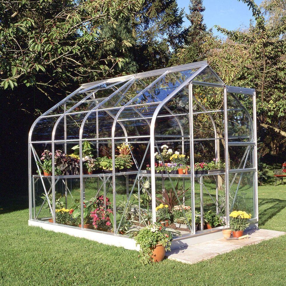 Serre de jardin Supreme verre horticole 5 m² + embase - Halls