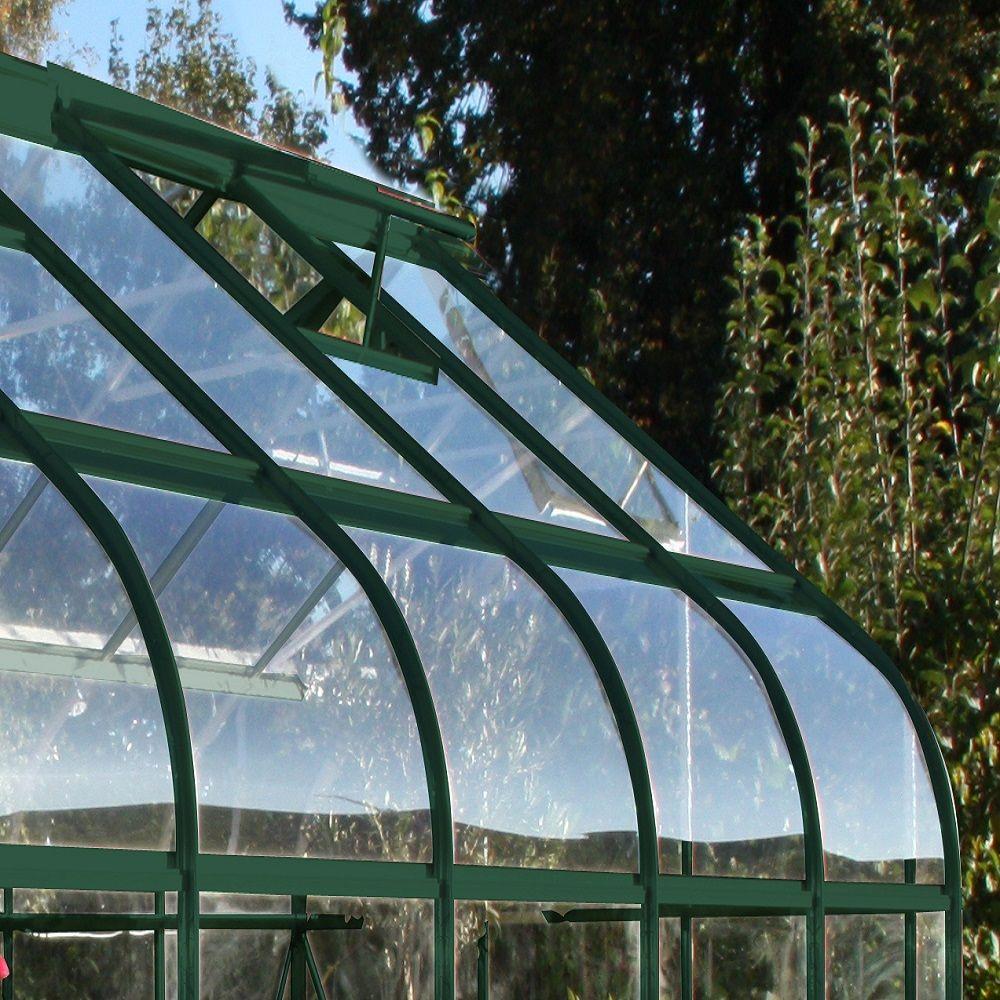 Serre de jardin Supreme verre trempé 11.4 m² + embase - Halls