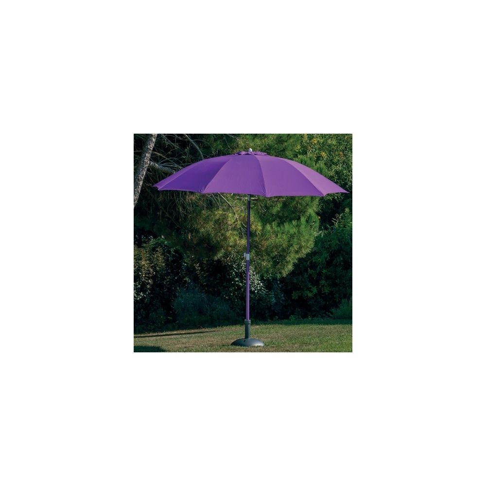 Parasol droit Ø 270 cm Cassis