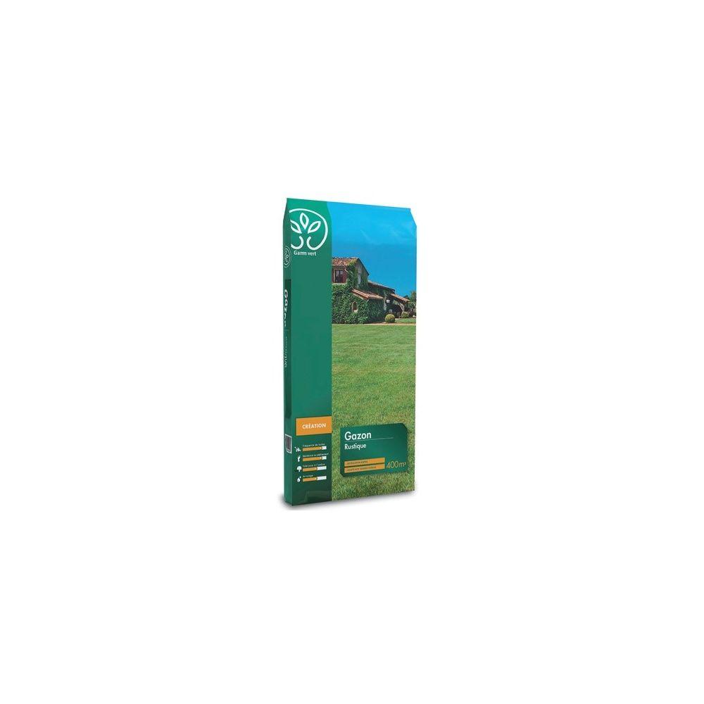Gazon Rustique 10 Kg - Gamm vert Sac de 10 kg - Gamm Vert