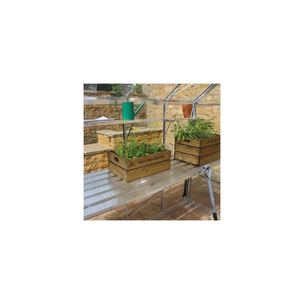 Plan de travail pour serres Birdlip - Eden Greenhouses