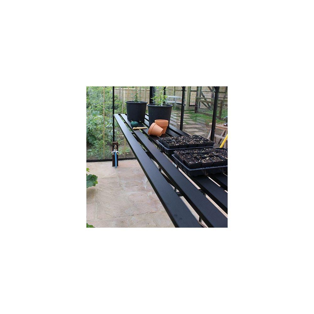 Plan de travail pour serres Blockley - Eden Greenhouses