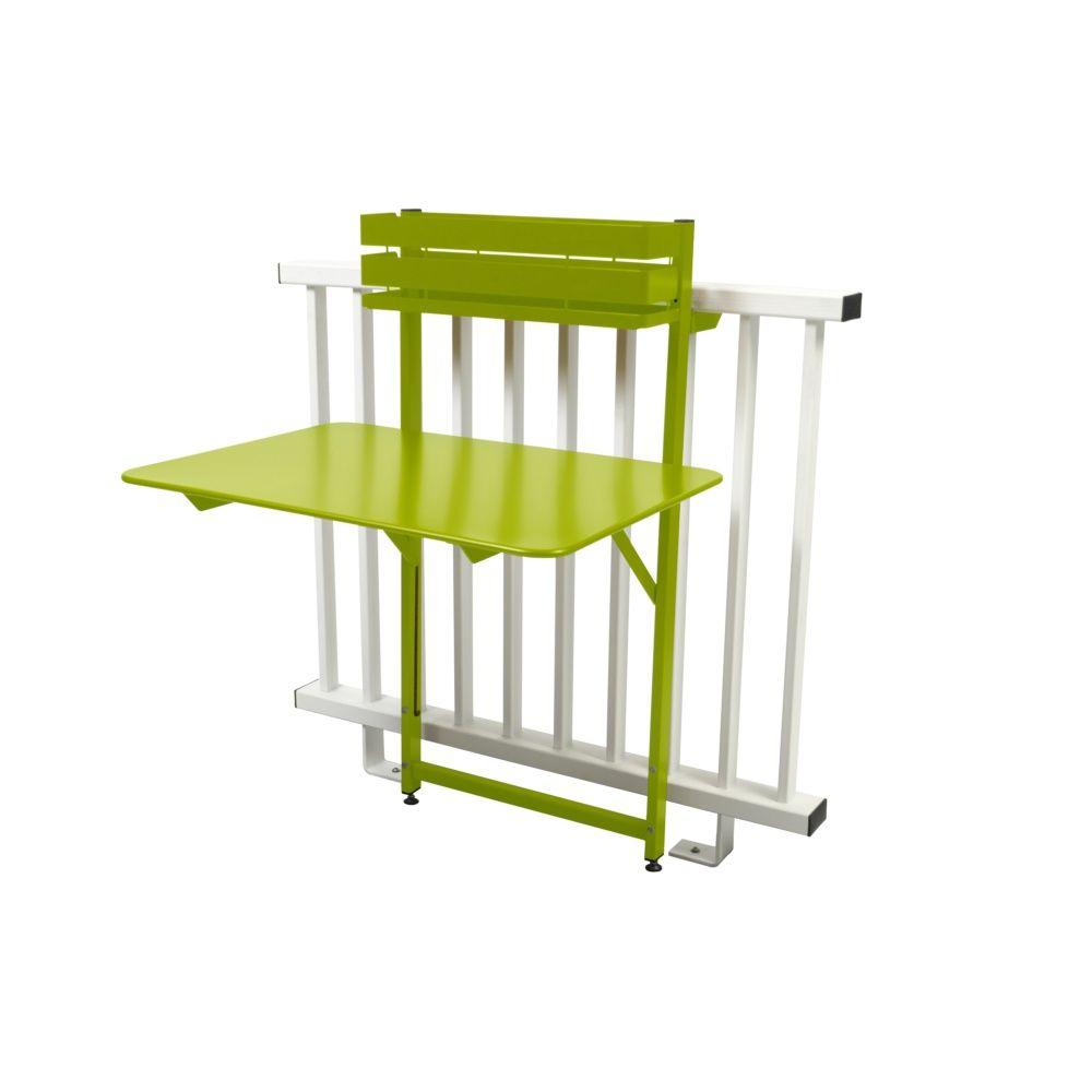 Balcon Et Structure En Acier Sublimant Votre Extérieur: Table De Balcon Pliante Fermob Bistro Acier L77 Cm