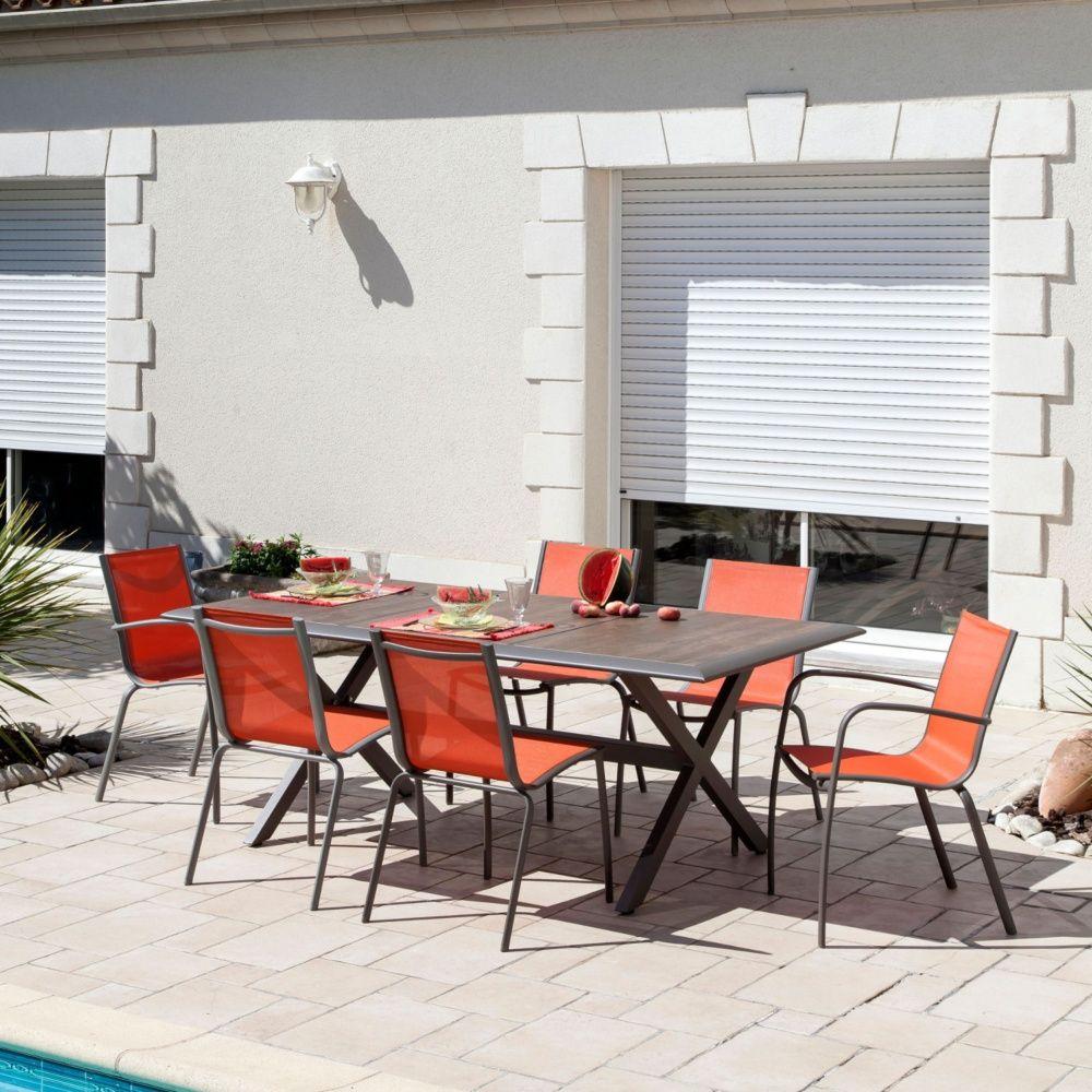 Awesome Table De Jardin En Bois Gamm Vert Images - House Design ...