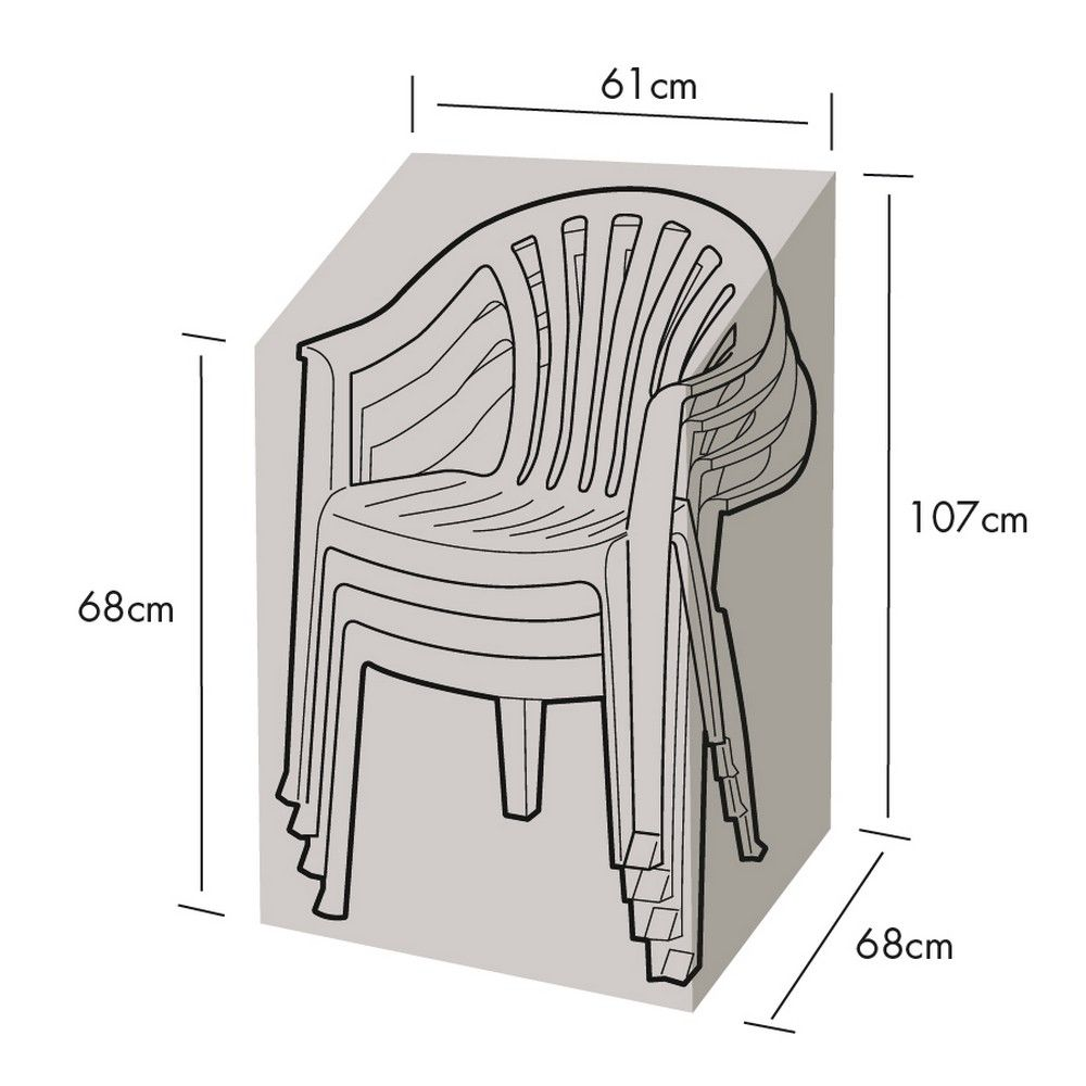 Chaise Polyester Protection Protection Empilable 68x61h107 Protection 68x61h107 Chaise Polyester Empilable 34jALR5
