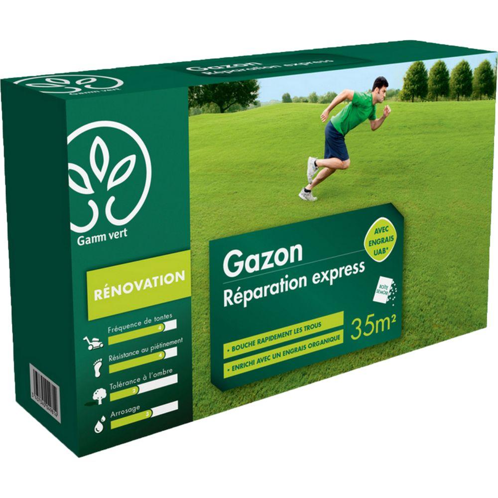 Gazon Réparation Express 1Kg avec engrais - Gamm Vert