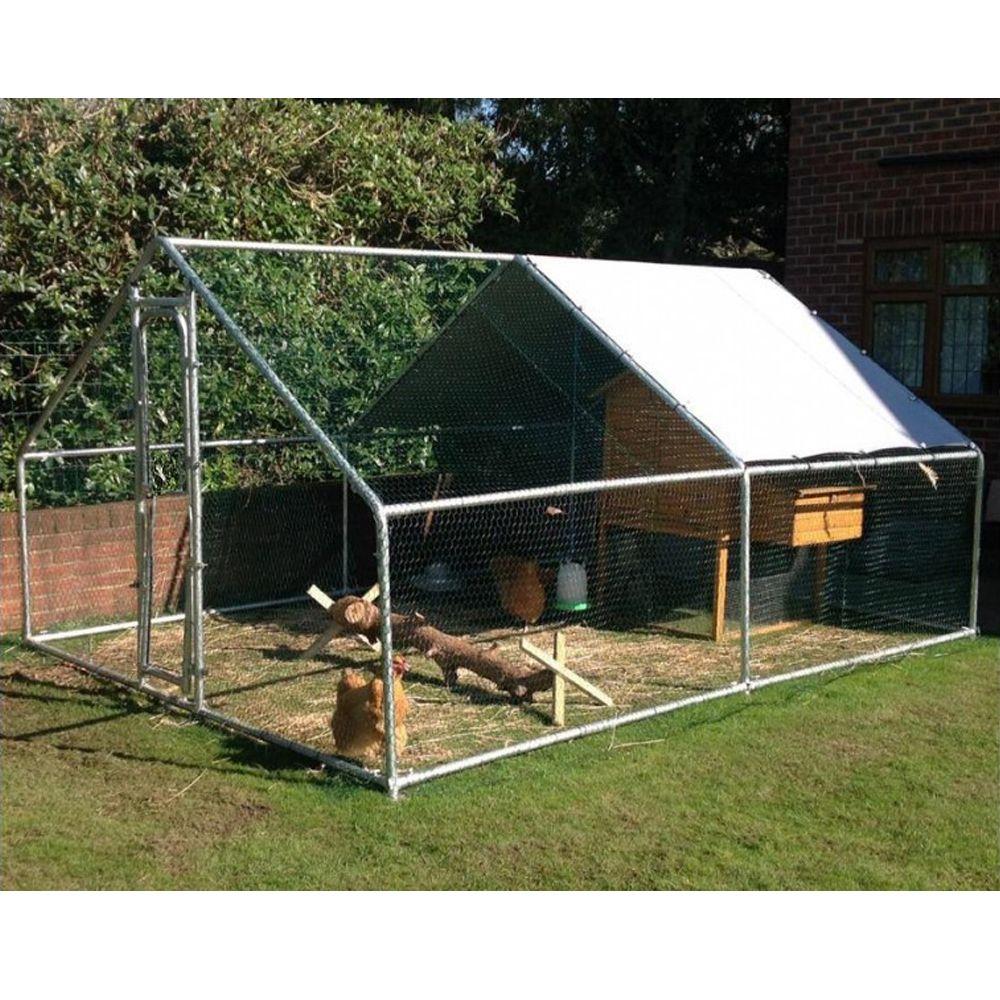 Enclos pour poules 12 m²