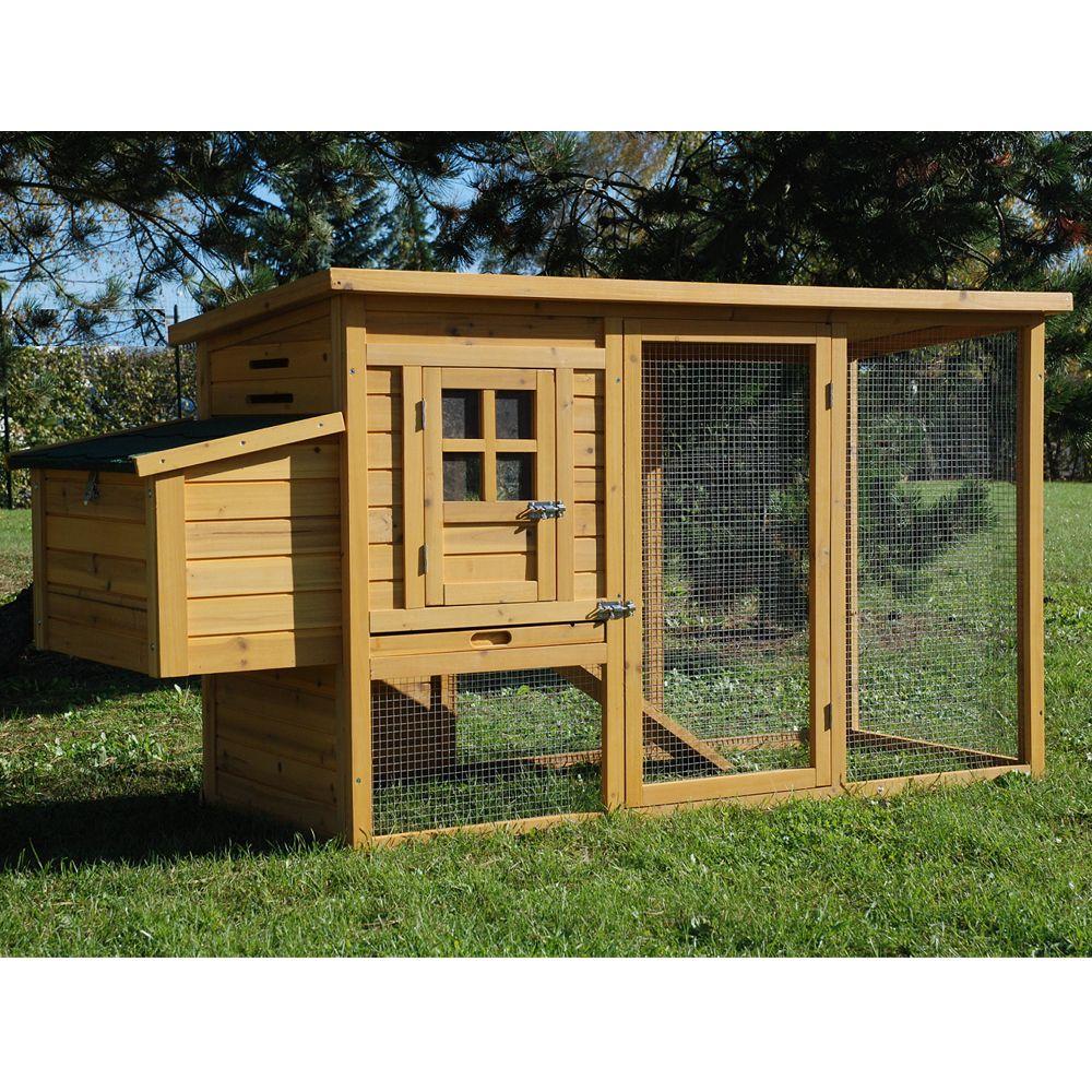 poulailler cottage ii 2 3 poules 160 x 92 x 8 5 cm 95. Black Bedroom Furniture Sets. Home Design Ideas