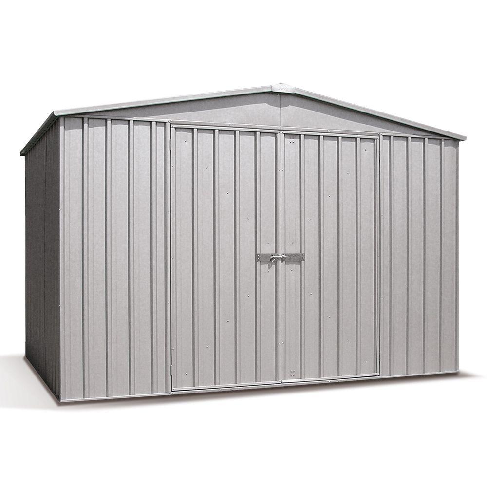 Abri de jardin métal 6,54 m² Ep. 0,35 mm Barkly