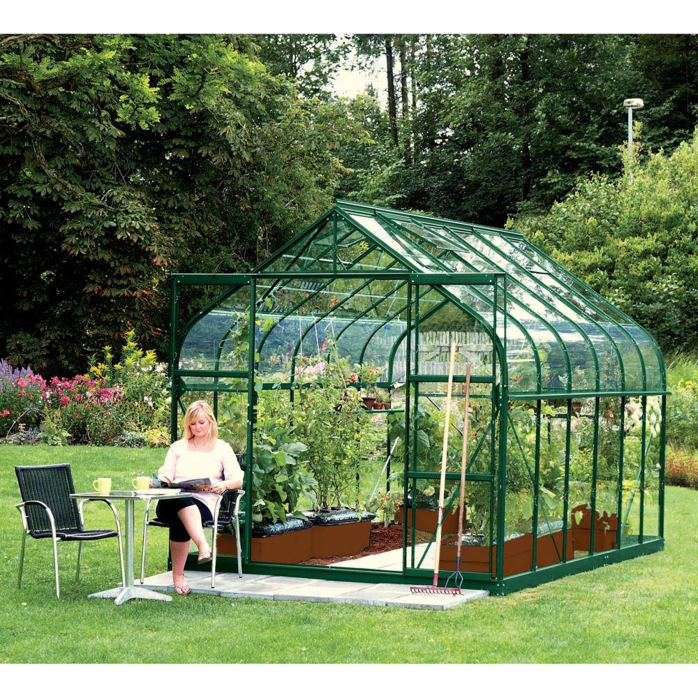 serre diana en verre tremp m vert lams gamm vert. Black Bedroom Furniture Sets. Home Design Ideas