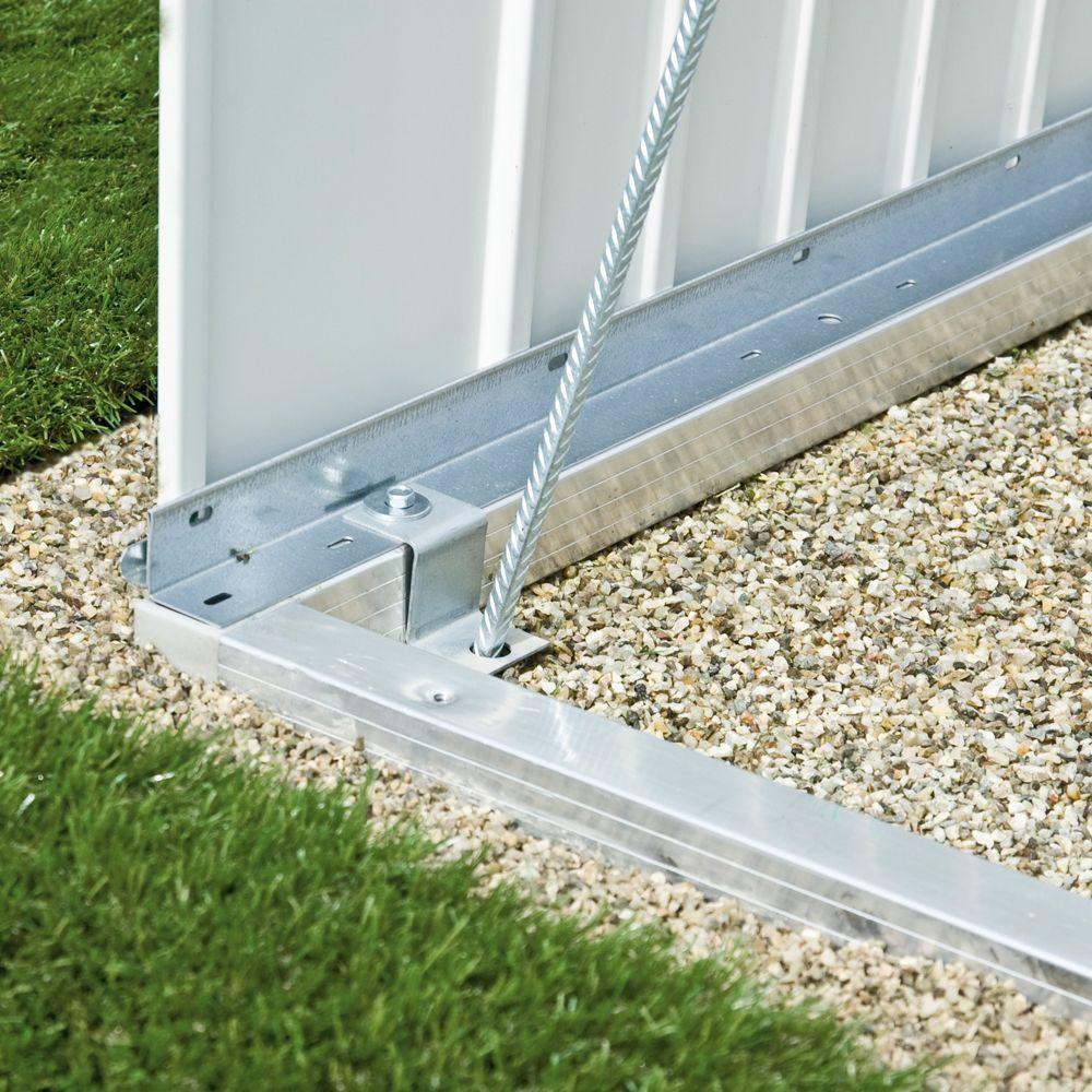 Cadre de sol pour abri métal 6,46 m² Ep. 0,53 HighLine Biohort