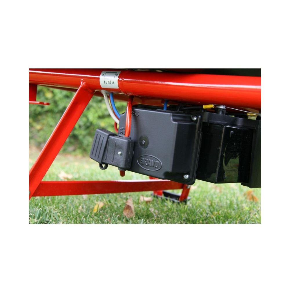 Brouette A Moteur Electrique Pro 100 10 Rouge Zoette