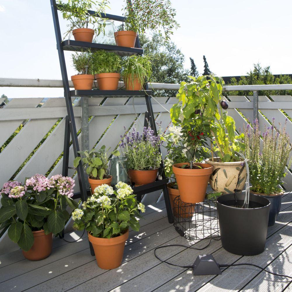 Arrosage Pour Plantes En Pot arrosage automatique de vacances gardena 36 plantes