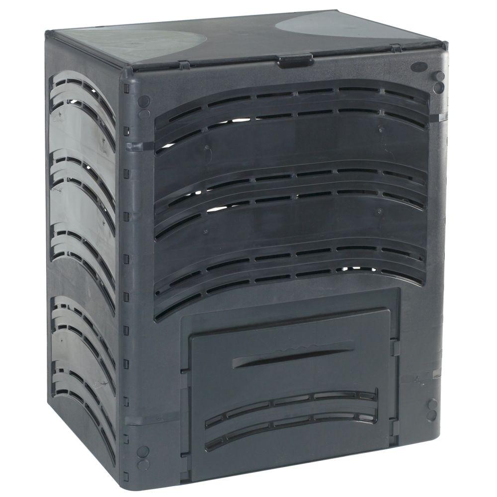 Composteur Compost' Eco 500 L noir - Bellijardin
