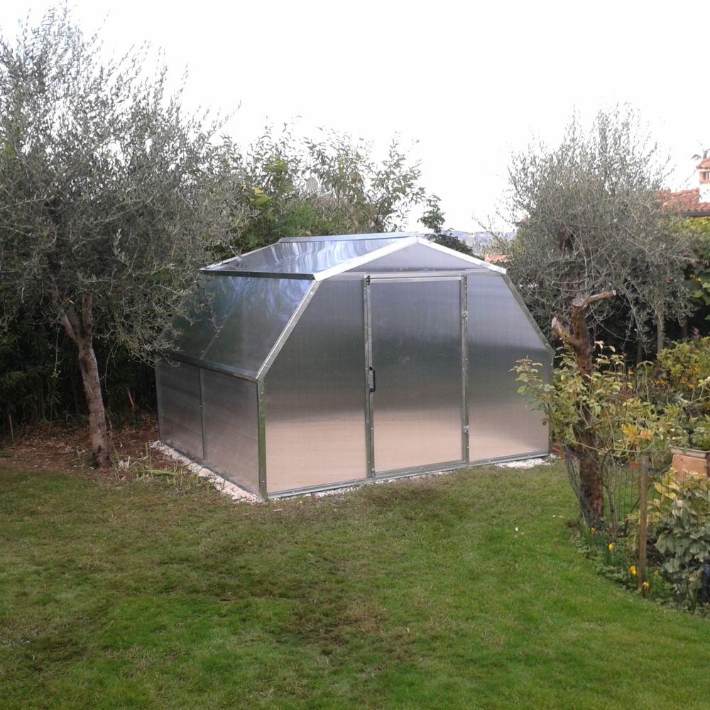 Serre polycarbonate Flora 9.75 m²