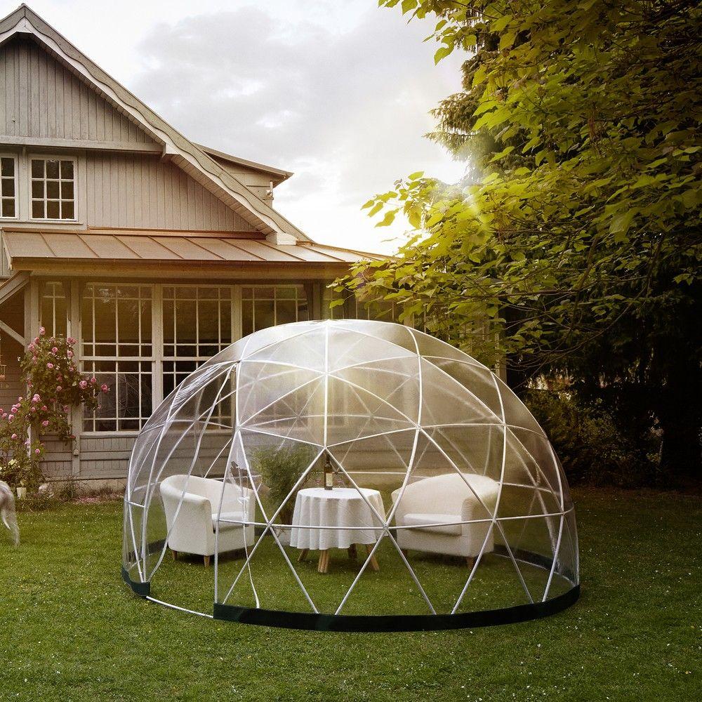 Abri de jardin garden igloo 10 m largeur 40 x longueur 79 x hauteur 30 cm gamm vert - Igloo de jardin ...