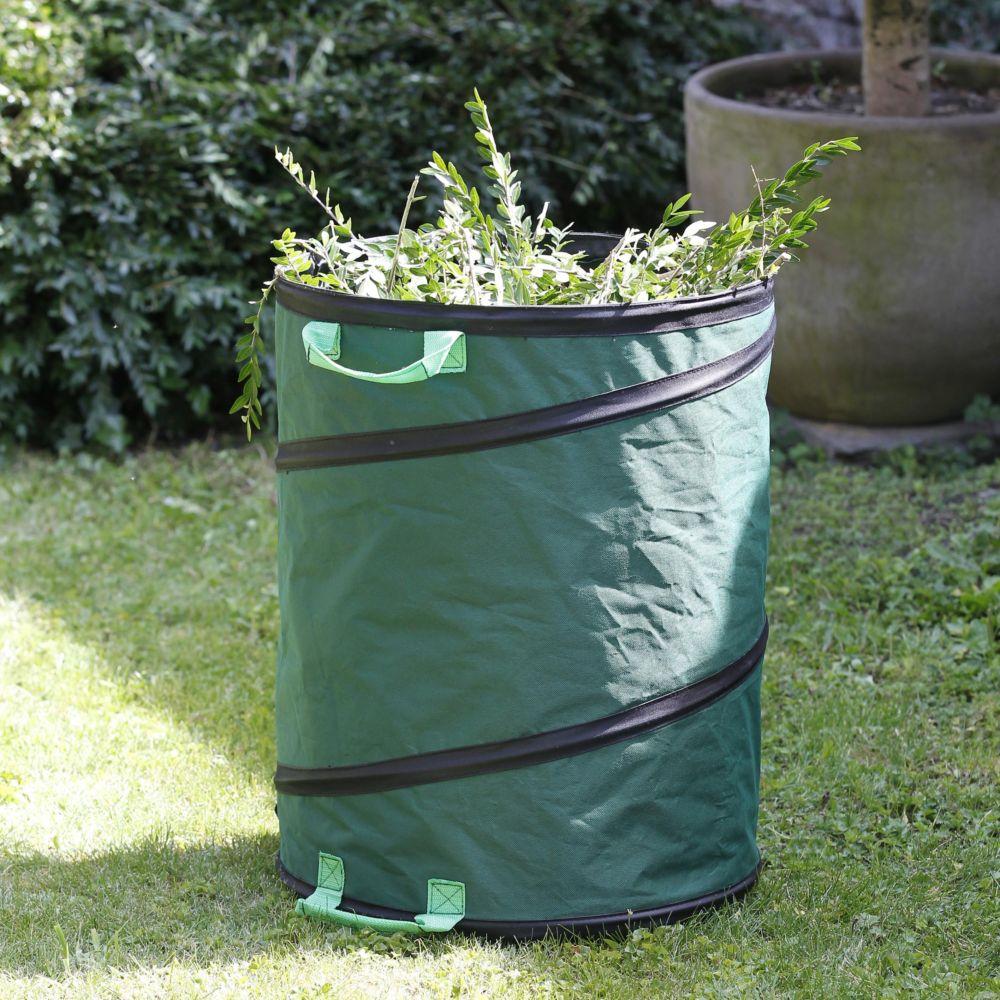Sac à déchets de jardin pop up 116 L - Gamm vert Pochette plastifiée ...