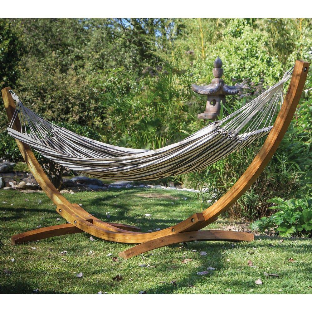 support hamac arc bois gamm vert. Black Bedroom Furniture Sets. Home Design Ideas