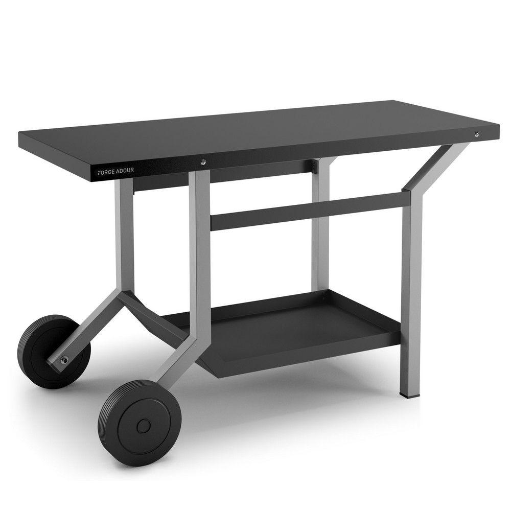 Table Roulante Pour Plancha Forge Adour Gamm Vert