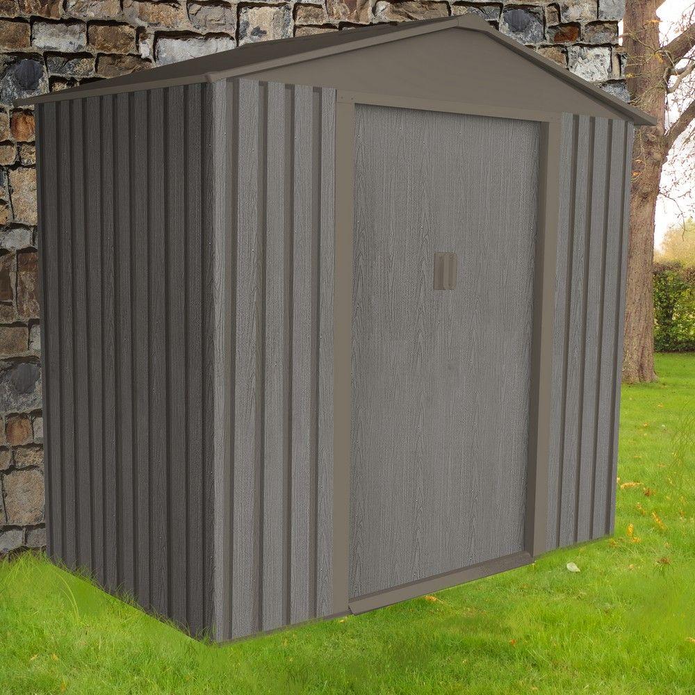 Serre de jardin - Petit abri de jardin métal aspect bois 2,43 m² Ep. 0,30 mm - Serre de jardin GammVert