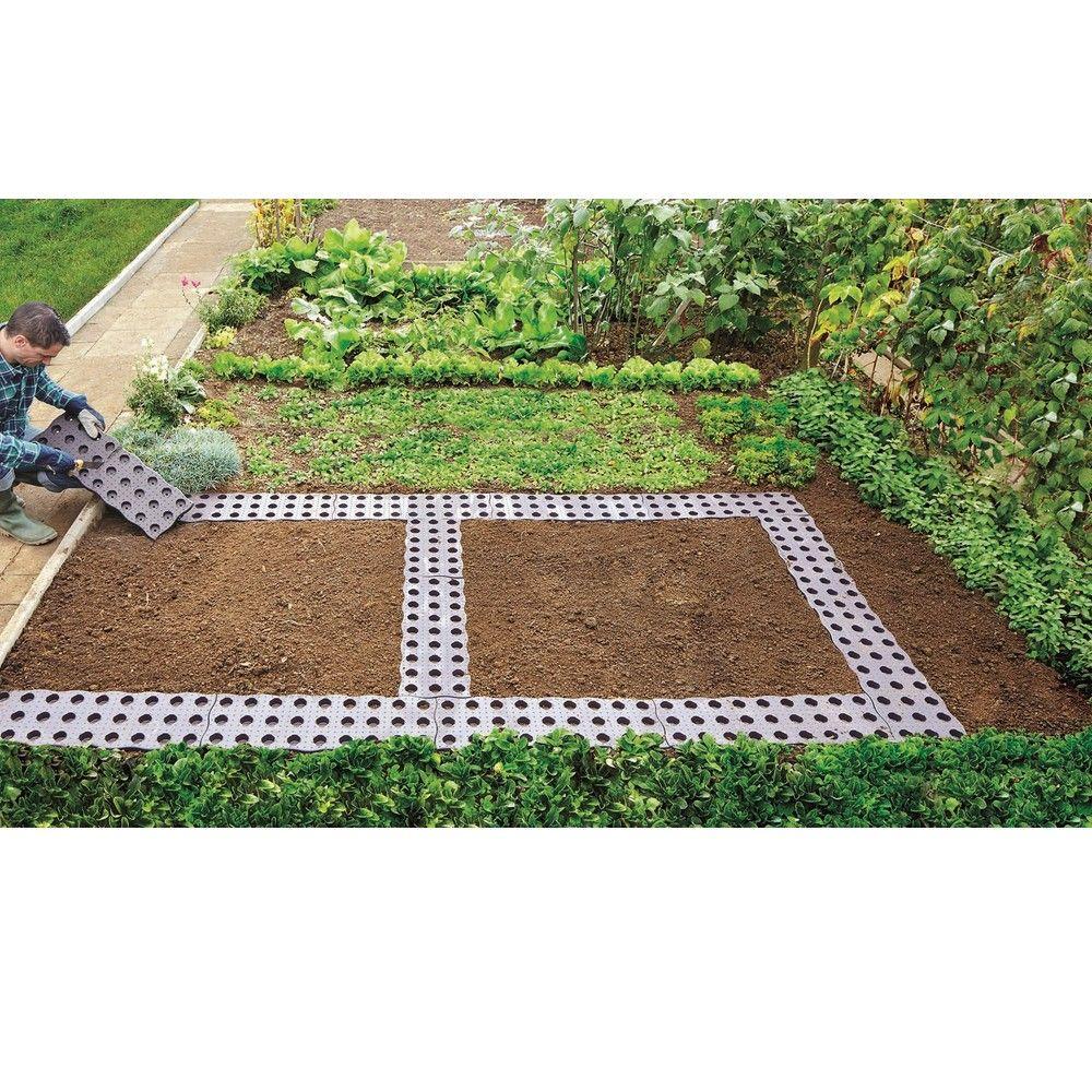 Dalle De Jardin Pas Cher set de 16 dalles de potager 0,70 m²