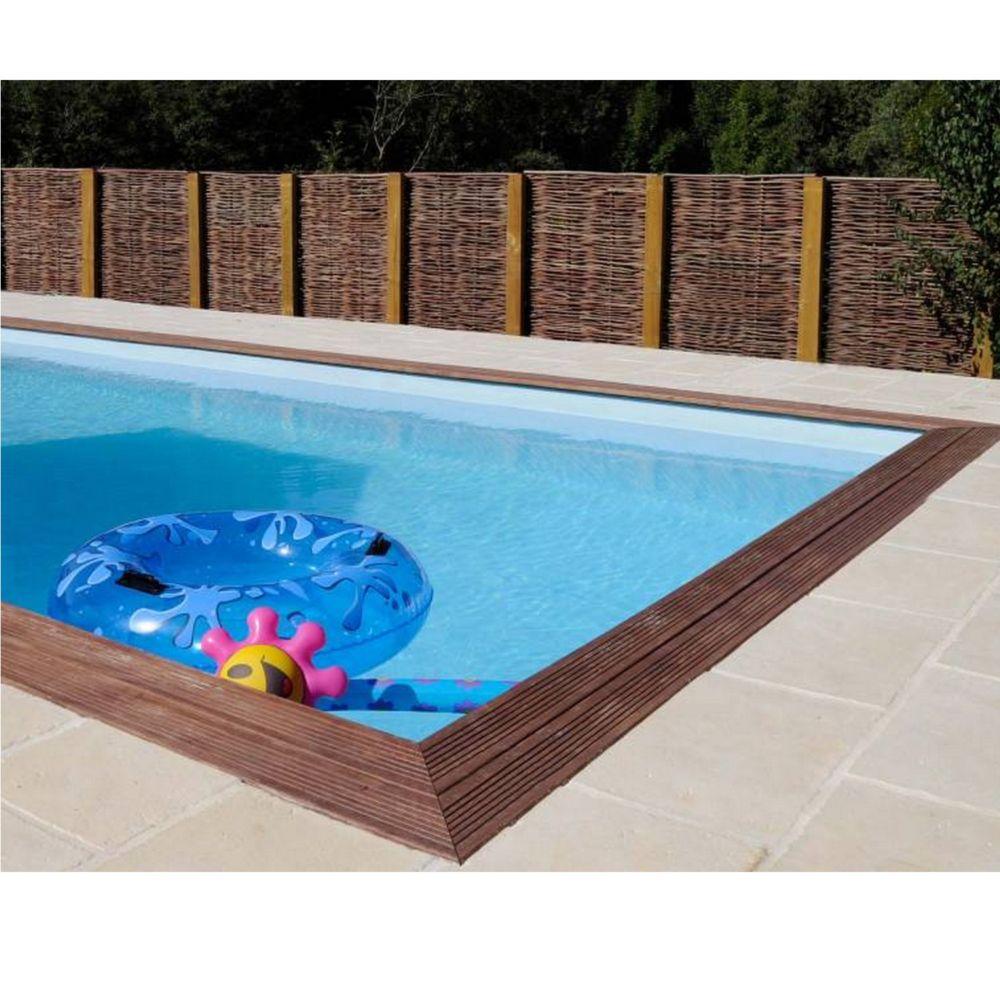Piscine En Bois Alsace piscine en bois traité marbella l 4.27 x l 2.72 m